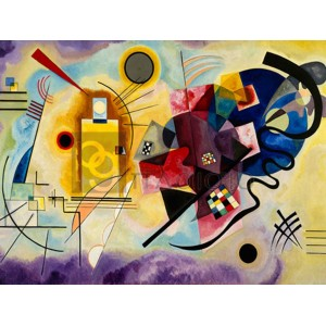 WASSILY KANDINSKY - Yellow, Red & Blue