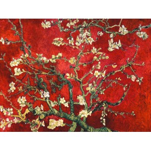 Vincent Van Gogh - Mandorlo in fiore (red variation)