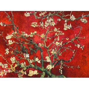 Vincent Van Gogh - Mandorlo in fiore (red variation)