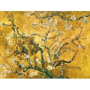 Vincent Van Gogh - Mandorlo in fiore (gold variation)