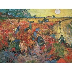 Vincent Van Gogh - The red Vineyard at Arles