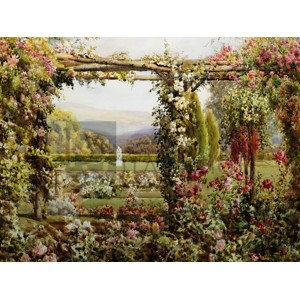 Robert Atkinson - The Rose Garden