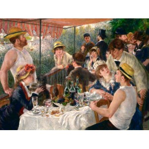 Renoir Pierre Auguste - Luncheon of the Boating Party