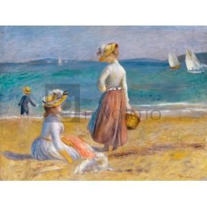Renoir Pierre Auguste - Figures on the Beach