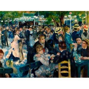 Renoir Pierre Auguste - Dance at Le Moulin de la Galette