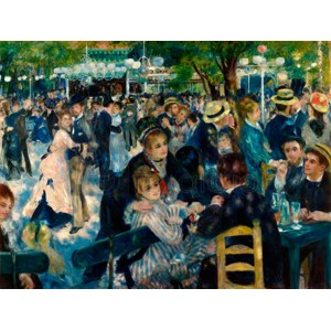 Renoir Pierre Auguste - Dance at Le Moulin de la Galette
