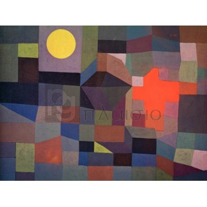 Paul Klee - Fire at Full Moon
