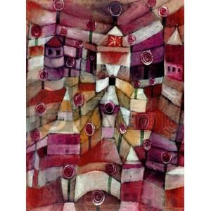 Paul Klee - Rose Garden
