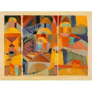 Paul Klee - Temple Gardens