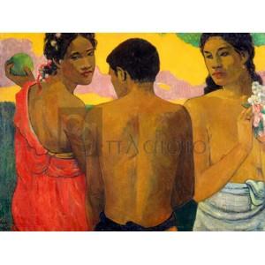 Paul Gauguin - Three Tahitians