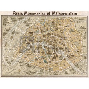 Anonymous - Paris Monumental et Métropolitain, 1932