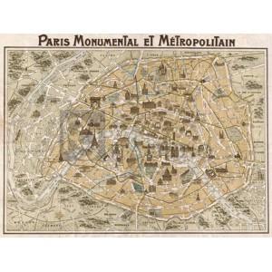 ANONYMOUS - Paris Monumental et Métropolitain, 1932