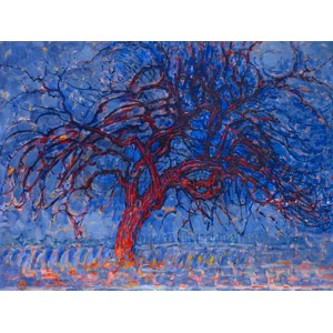 Piet Mondrian - Evening Red Tree
