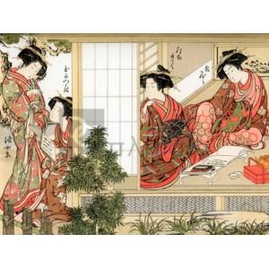 Katsukawa Shunsho - Japanese Beauties, 1776