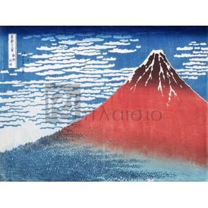 Katsushika Hokusai - Fine Wind, Clear Morning