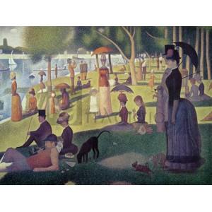 Georges Seurat - Après-midi à l'île de La Grande Jatte