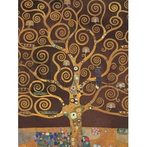 Gustav Klimt - Tree of Life (Brown Variation) (detail)