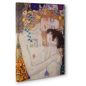 Gustav Klimt - Le Tre età della donna (detail)