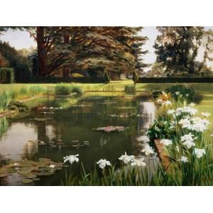 Ernest Spence - The Garden, Sutton Place, England