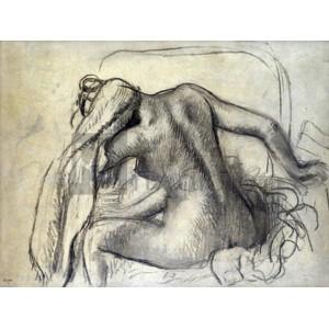 Degas Edgar Germain Hilaire - La toilette