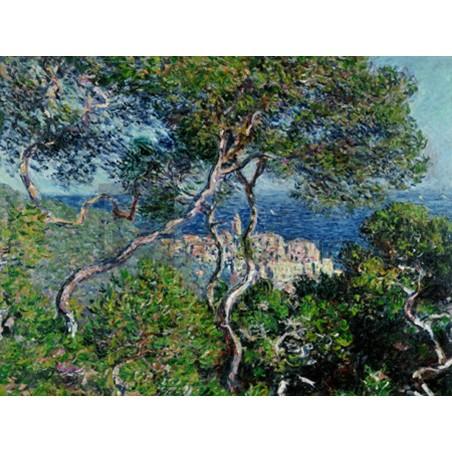 Claude Monet - View of Bordighera,Italy