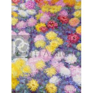 Claude Monet - Chrysanthemums