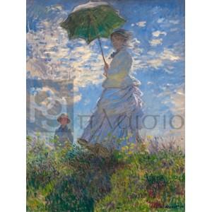 Claude Monet - Femme à l'ombrelle