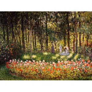 Claude Monet - Wooded Scene