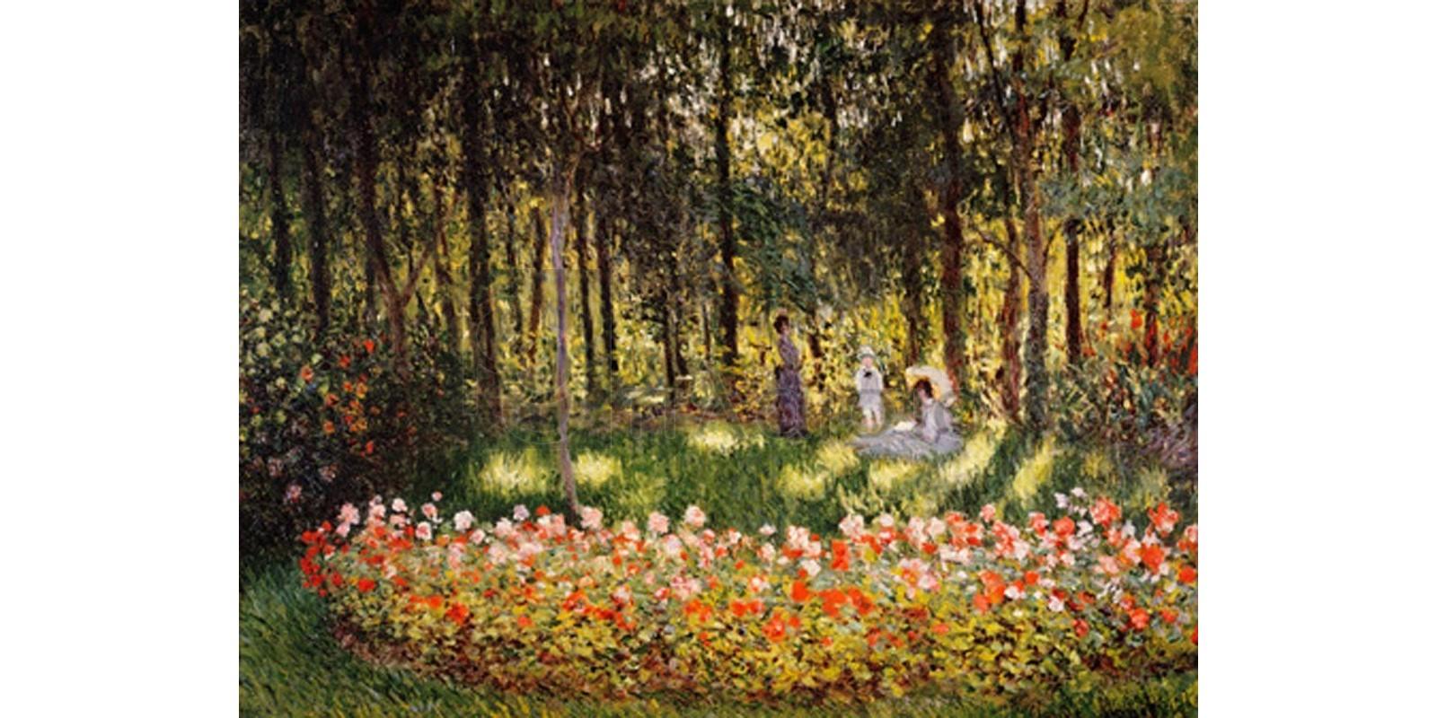 Claude Monet - Wooded Scene