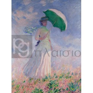 Claude Monet - Woman with a Parasol (Right)