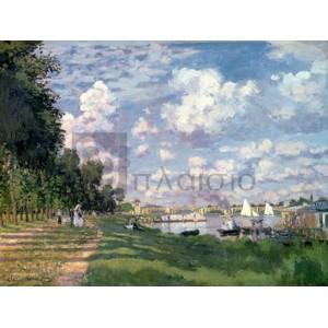 Claude Monet - The Marina at Argenteuil