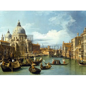 Canaletto - The Entrance to the Grand Canal, Venice