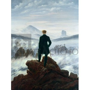 Caspar David Friedrich - Wanderer Above the Sea of Fog