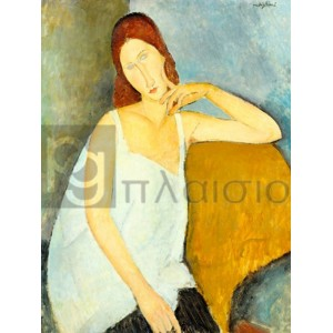 Modigliani Amedeo Clemente - Jeanne Hèbuterne