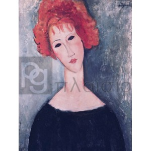Modigliani Amedeo Clemente - Red Head