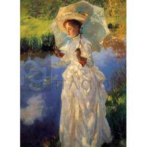 John Singer Sargent - Morning walk