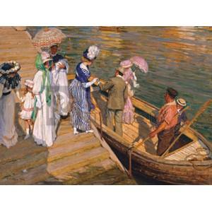 Emanuel Phillips Fox - The Ferry