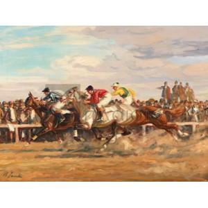 Angelo Jank - Horse race