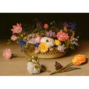 Ambrosius Bosschaert The Elder - Flower Still Life