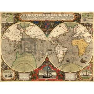 HENDRIK HONDIUS - Vera Totius Expeditionis Nauticae, 1595