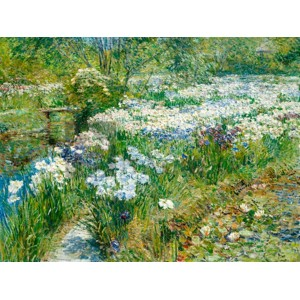 Frederick Childe Hassam - The Water Garden