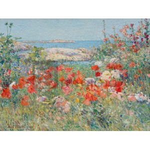 Frederick Childe Hassam - Garden, Isle of Shoals, Maine