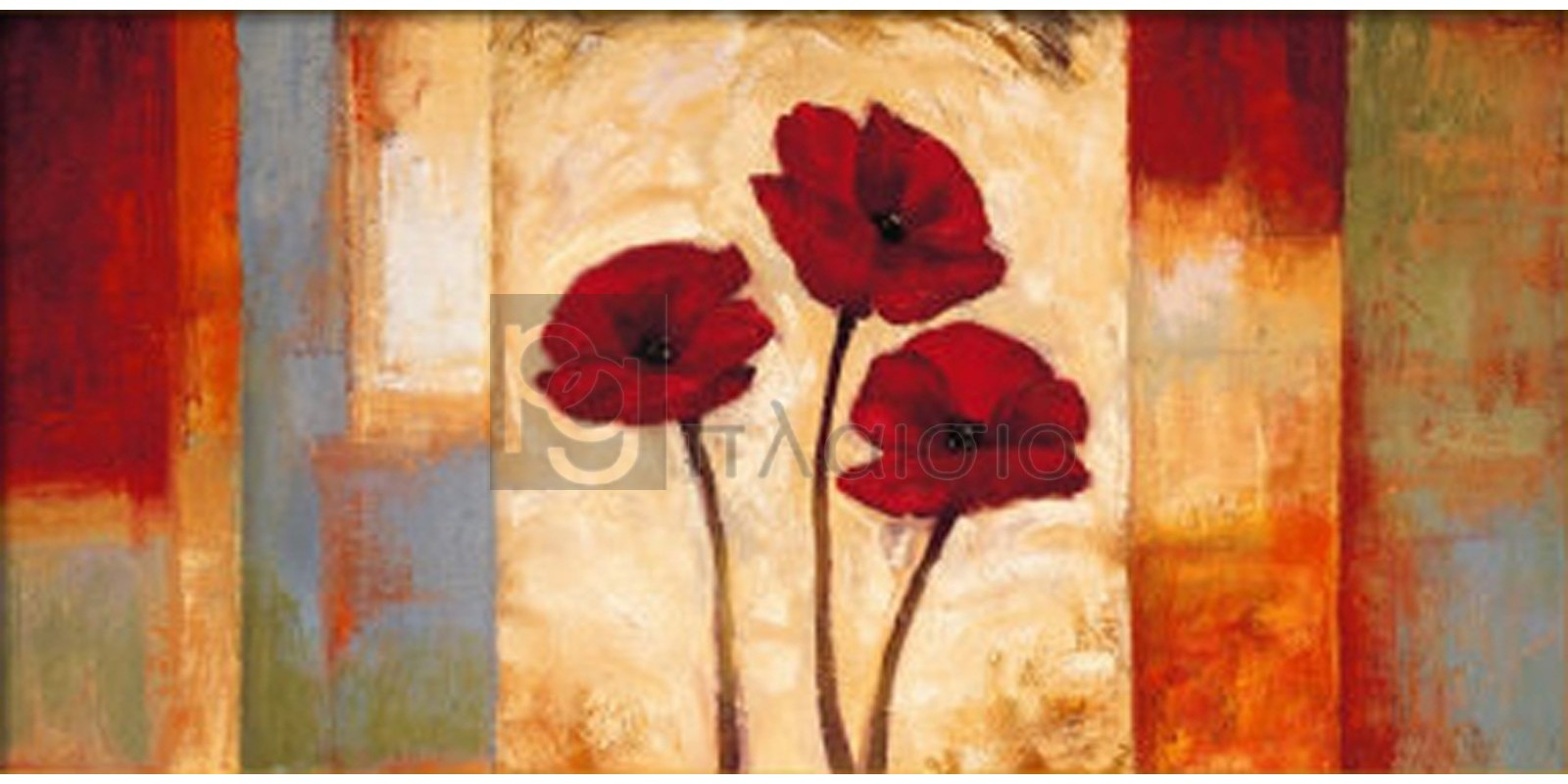 Brian Francis - Poppies in Rythm I