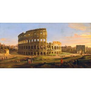 Gaspar Van Wittel - Veduta del Colosseo