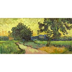 Vincent Van Gogh - Landscape at twilight