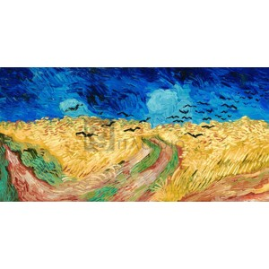 Vincent Van Gogh - Wheat Field with Crows