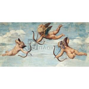 Raffaello - Trionfo di Galatea (detail)