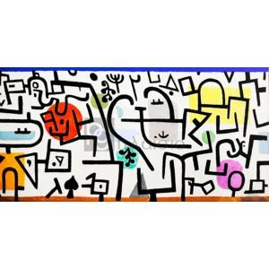 Paul Klee - Rich Harbour (detail)