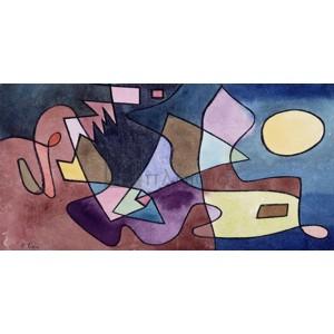 Paul Klee - Dramatic Landscape