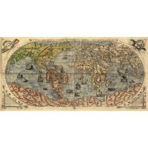 PAOLO FORLANI - Universale descrittione di tutta la terra, 1565